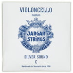 Jargar Silver Cello String C Medium