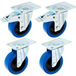Millenium Blue Wheel Bundle 100 mm
