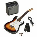 Fender SQ Strat Pack Short Scale BSB