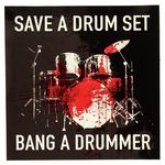 Bandshop Sticker Save A Drum Set