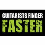 Bandshop Sticker Guitarists Finger