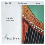Bow Brand BW 5th B Harp Bass Wire No.32