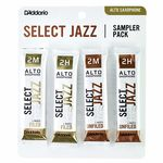 Daddario Woodwinds Select Jazz Alto Sampler Pck 2