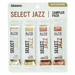 D'Addario Woodwinds Select Jazz Alto Sampler Pck 3