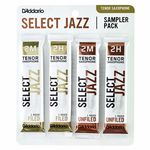 D'Addario Woodwinds Select Jazz Tenor Sampler Pck2