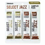 D'Addario Woodwinds Select Jazz Tenor Sampler Pck3