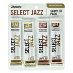 D'Addario Woodwinds Select Jazz Bari Sampler Pck 2