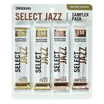 D'Addario Woodwinds Select Jazz Bari Sampler Pck 3