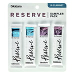 D'Addario Woodwinds Reserve Clarinet Sampler P 3,5