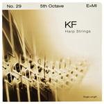 Bow Brand KF 5th E Harp String No.29