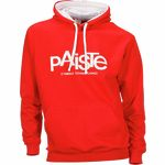 Paiste Contrast Hoody Red L