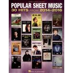 Hal Leonard Popular Sheet Music 2014-2016