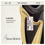 Bow Brand BWP 5th B Harp Bass Wire No.32