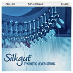 Bow Brand Silkgut 5th D Harp Str. No.30