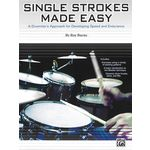 Alfred Music Publishing Single Strokes Made Easy