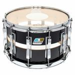 "Ludwig 14""x08"" Slotted Coliseum Black"