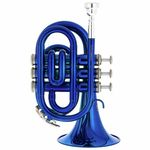Thomann TR 25 Bb-Pocket Trumpet Blue