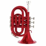 Thomann TR 25 Bb-Pocket Trumpet Red