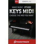 Toontrack EZkeys Midi Pack Card