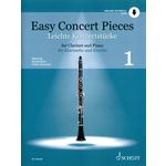 Schott Easy Concert Pieces Clarinet 1