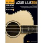 Hal Leonard Acoustic Guitar Songs