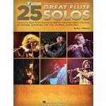 Hal Leonard 25 Great Flute Solos