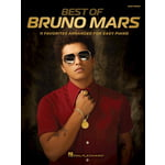 Hal Leonard Best Of Bruno Mars Easy Piano