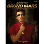 Hal Leonard Best Of Bruno Mars Easy Piano