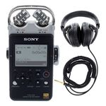 Sony PCM-D100 Headphone Bundle