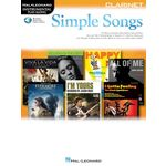 Hal Leonard Simple Songs: Clarinet