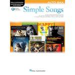 Hal Leonard Simple Songs: Alto Saxophone