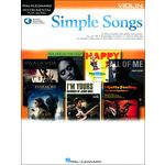 Hal Leonard Simple Songs: Violin