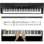 Kawai ES-8 B Teaching Bundle