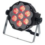 Varytec LED Pad7 7x10W 6in1 RGBAWUV BL