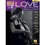 Hal Leonard Cello Play-Along Love Songs
