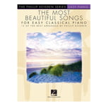 Hal Leonard The Most Beautiful Songs Easy
