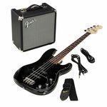 Fender SQ Affinity PJ Bass Pack BK 18