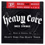 Dunlop Heavy Core Bass 4 Set Heaviest