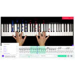 music2me Piano Subscription 12 Months