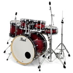 Pearl Decade Maple 6pc Red Burst