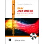 Universal Edition Jazz Studies Alto Recorder