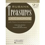 Hal Leonard Rubank Treasures for A-Sax
