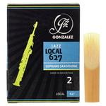 Gonzalez Soprano Sax Reed Local 627 2
