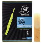 Gonzalez Soprano Sax Reed Local 627 2,5