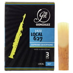 Gonzalez Soprano Sax Reed Local 627 3,5