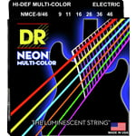 DR Strings HiDef Multi Color Neon E 9-46