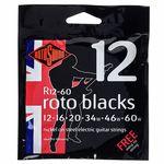 Rotosound Blacks 12-60 Nickel Strings