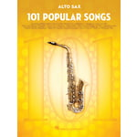Hal Leonard 101 Popular Songs A-Sax