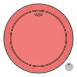 "Remo 24"" P3 Colortone Batter Red"