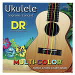 DR Strings Multi Colour Ukulele Strings